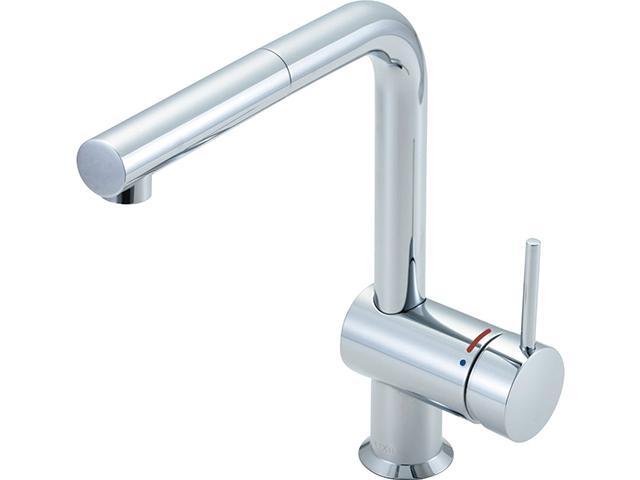 LIXIL シングルレバー混合水栓 クロマーレ エコハンドル
